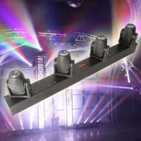 Quality RGBW 4x10W Rotation Led Panel Light , DMX Four Head Led Moving Head Beam Light for sale