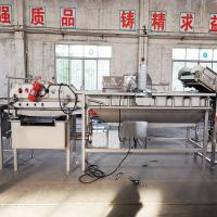 China Fruit and Vegetables Cleaning Cutting Machine/Vegetable Processing Production Line on sale