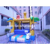 Quality PLATO PVC Tarpaulin Mini Animal Inflatable Bounce House, Custom Inflatable Bouncer in 4x3x3H Meter for sale