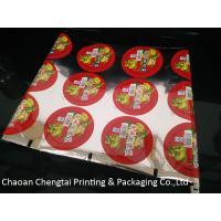 Quality Custom Printed Cup Sealing Packaging Film Pickle Vegetables Cup Sealer Film for sale