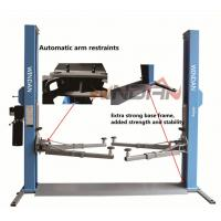 Quality One Side Manual Two Post Hydraulic Car Lift Mechanical Release for sale
