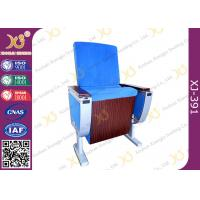 Quality Pure Aluminum Alloy Structure Cinema Theater Chairs With Big Folding Dining Table for sale