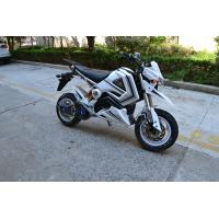 China 60 Km / H 1500w Electric Scooter Motorcycle With Lead - Acid Battery 72V 20AH on sale