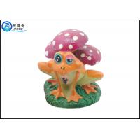 Quality Resin Super Froggy Design Aquarium Tank Decorations With Mushroom For Household for sale