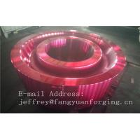 Quality ASTM AISI  DIN 36CrNiMo4 JIS SNCM439 Forged Gear Blank Internal Gear RIng Blanks Alloy Steel for sale
