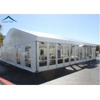 Quality Elegant Different Shape Glass Wall Tent Structures For Outdoor Business Party for sale
