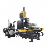 China ISO9001 High Speed CNC Plate Processing Machine Punching Marking And Drilling for sale