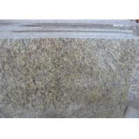 Quality Tiger Skin Gold Yellow  Granite Countertop Tiles , Granite Kitchen Tiles Polished for sale