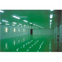 China Food Processing Areas Clean Room Equipment Self Leveling Epoxy Floor Coating on sale