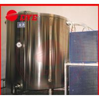 Quality 5BBL Cold-drawing Storage Water Tank For Beer , Stainless Steel Jacketed Tanks for sale