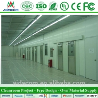 Quality Sandwich Panel FDA Food Electronics Cleanroom Design for sale