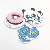 Buy Custom Cartoon Scented Self Adhesive Paper Label Sticker With Fragrance at wholesale prices