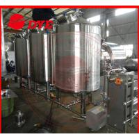 Quality 500L Semi-Automatic Cip Cleaning System For Beer Brewery Equipment for sale