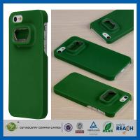China Green Hard Plastic Iphone 5S Apple Cell Phone Cases , Anti-Shock Mobile Phone Case on sale
