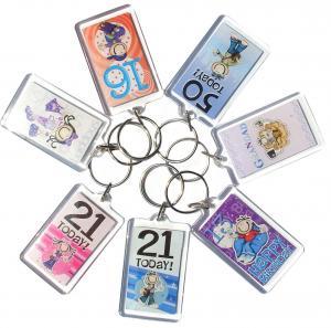 Quality Acrylic key chain for sale