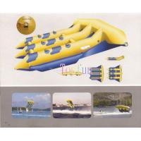 China Fantastic Inflatable Fly Fish Boat/Inflatable Flying Fish Toy / Inflatable Fly Fish Water Game 6 Seats on sale