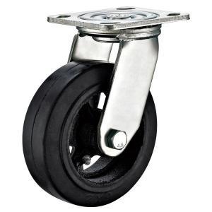 """Quality Load Case Heavy Duty Swivel Caster Wheels / Heavy Duty Rubber Casters 6""""X2"""" for sale"""