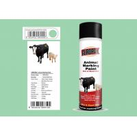 Quality Liquid Coating Animal Marking Paint Green Color For Pigs APK-6810-6 for sale