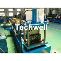 Quality Round Gutter Roll Forming Machine With PPGI Aluminum Forming Material , 0-15m/min for sale