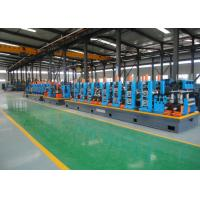 Quality SS Tube Mill Machine / ERW Pipe Mill With PLC Automatic Control System for sale
