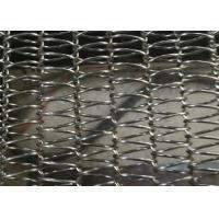China 316 Stainless Balanced Weave Conveyor Belts For Drying / Drying / Conveying Products on sale