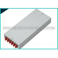 Quality Configured LC / SC Fiber Optic Termination Box Wall Mounted 12 Port Φ 8.5mm - 18mm for sale