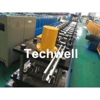 Quality Galvanized Steel Guiding Column Shutter Door Roll Forming Machine Thickness 1.5-3.0mm for sale