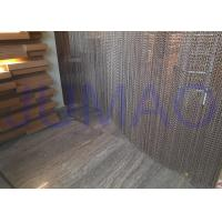 Quality Aluminum Alloy Hanging Chain Room Dividers Easy Installed For Dubai Hotel / Spa for sale