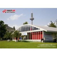 Quality Clearspan Fabric Structures Transparent Tents For Weddings With Glass Pannel Sidwall for sale