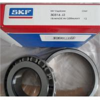 Quality Stainless Steel Single Row Tapered Roller Bearings For Metal / Plastic Machines for sale