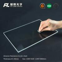Robot Partitions With Abrasion Resistant Acrylic Sheet For