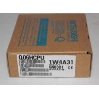 Buy cheap Q06HCPU 60k steps with USB, RS-232 CPU Mitsubishi Programmabel Logic Controller from wholesalers