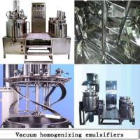 China 500L Vacuum Homogenizing Emulsifying Mixer, Emulsification Equipment on sale