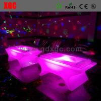 Quality Modern Coffee LED Table And Chairs Lightweight 140 * 80 * 58 Cm Size for sale