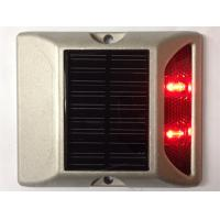 Quality 2 LEDs Solar LED Road Stud 800M Visual Distance 5000mcd-8000mcd Luminous intensity for sale