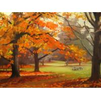 Quality crystal painting group painting water city for sale