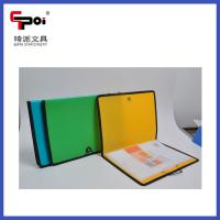 Quality Cheap PP Stationery A4 Customized With Elastic Sewing Edge File Folders Display Books for sale