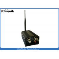 Buy 60KM LOS UAV Video Transmitter and Receiver 1.2GHz Wireless Video System 8 Channels at wholesale prices