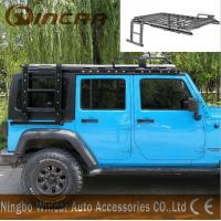 Quality Luggage Car Roof Racks Alininum / Steel Material For Jk Jeep Wrangler for sale