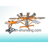 Buy cheap silk screen printing press screen printing machine from wholesalers