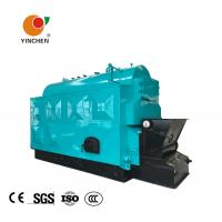 Quality Coal Biomass Fuel Horizontal Steam Boiler Blue With Automatic Slag Machine for sale
