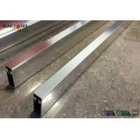 Quality Sliver Mirror Polished Aluminium Profile For Bacony Rail Polished Aluminum Extrusion Profiles for sale