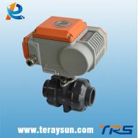 Quality RS485/M-bus Intelligent 2 Way Ball Valve For Water Treatment for sale