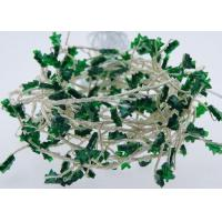 Quality AA Battery Operated USB LED Fairy Lights 120 Green Christmas Tree Shaped for sale