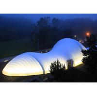 Buy cheap CE Approved Durable Inflatable Tent For Event , Outdoor Luxury Hard Shell Roof from wholesalers