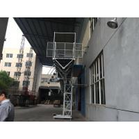 Quality YZZ 132 S1-4 Motor Mast Climbing Work Platforms Adopts European Technology for sale