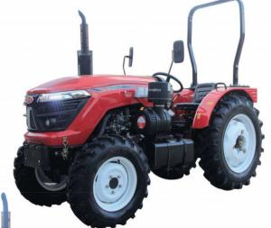 Quality 70hp 44.1kw Agriculture Farm Tractor With Four Wheel Drive for sale