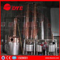 Quality Rum Gin Whiskey Commercial Distilling Equipment Alcohol Pot Still for sale