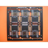 Quality Four Layer Black Solder FR4 Multilayer PCB Manufacturer for SD Card , OEM and Customized for sale