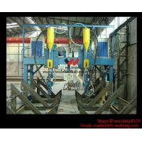 Quality LHA 4000mm H Beam Gantry Type Automatic  Welding Machine With Saw Welder for sale